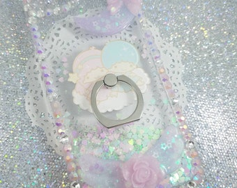 Iphone 7 Dreamy Magical Ring Stand Deco Case