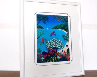 Joanne Netting Hand Signed Serigraph Limited Edition Print Poster Litho Vermillion Arts