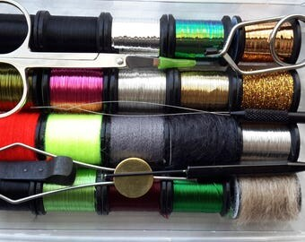FLY TYING KIT,,,    Season Gift,, Birthday,,  Fly Tyiers,, And More