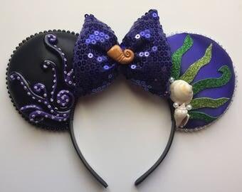 Disney The Little Mermaid Ursula Mickey Ears