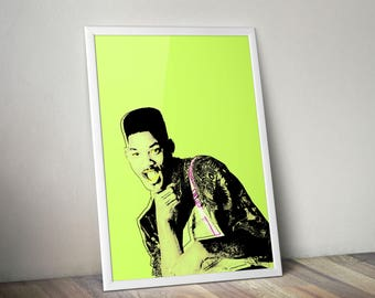 Fresh Prince of Bel Air Digital Print