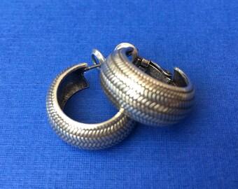 Pretty Little Vintage Hoop Earrings for Pierced Ears