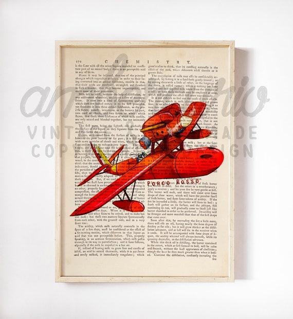 Porco Rosso Art