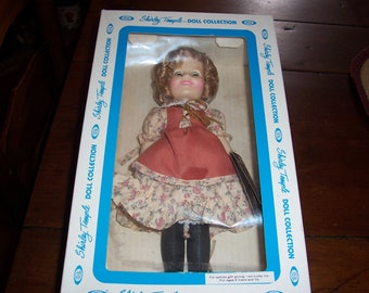1982 Shirley Temple Doll Collection...Suzannah of the Mounties...With tags in Original Box...12 Inch Dolls from Ideal..Character Dolls
