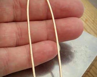 Modern and Minimalist  Textured Hair Pin- Brass Hair Stick- - Gold Hair Pin - Golden Brass Hair Stick