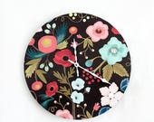 Boho Wall Clock, Bohemian Home Decor, Home and Living, Home Decor, Clocks, Living Room Clock, Apartment Therapy