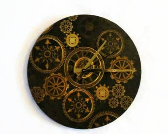 Steampunk Wall Clock,  Home and Living,  Home Decor, Decor and Housewares. Home and Living