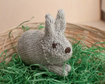 knitted bunny, easter bunny, rabbit knitted rabbit, cute bunny, knit toys,