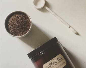 COFFEE FIX: natural body scrub