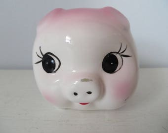 Vintage Chubby Piggy Bank - Made in Italy