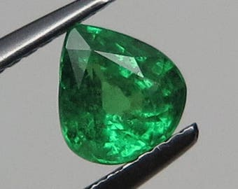 1.13 Ct Natural Green Garnet Tsavorite Unheated