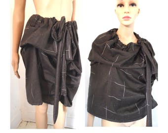 BURBO 'Excentraverse' Skirt/cape