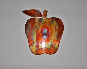 Copper Apple Wall Hanging