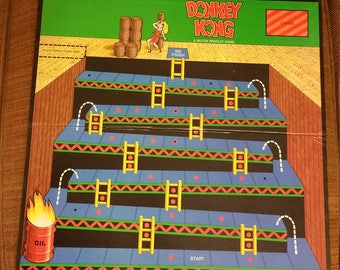 Donkey Kong Board Game Board Only 1982