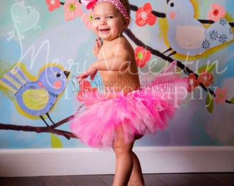 Baby Tutu Pink Tutu 1st Birthday Tutu Cake Smash Tutu Newborn Tutu Infant Tutu Toddler Tutu Baby Shower Gift Flower Girl Tutu Photo Prop