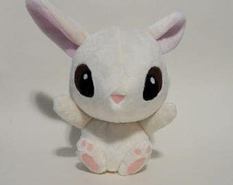Bunny Plush Cream stuffed animal cute kawaii Easter Bunny