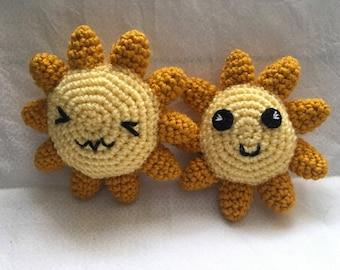 Happy Sun Crochet Pattern