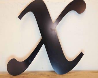 Vintage Letter X,  Alphabet, X, Wall Art
