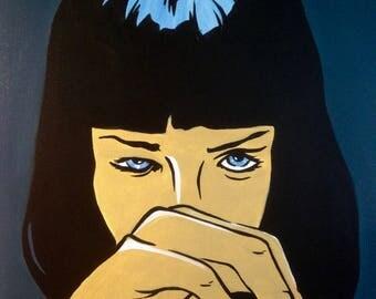 Mia Wallace Pulp Fiction