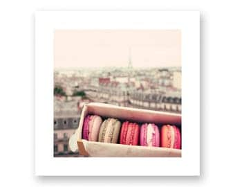 Paris photography, canvas art, Paris wall art, large wall art, Paris canvas, Paris print, canvas wall art, french macaroons, macarons