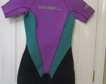 O'NEILL Short Spring Suit / Wetsuit 2/1 WOMENS SIZE 12