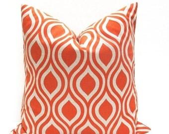15% Off Sale ORANGE pillows, Decorative Pillow Covers, EURO  Orange Pillow, Cushion covers, Accent Pillow, Tan Pillow, Throw Pillows,