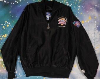 SUPER BOWL 1995 xxlx Football Starter Jacket Size XL