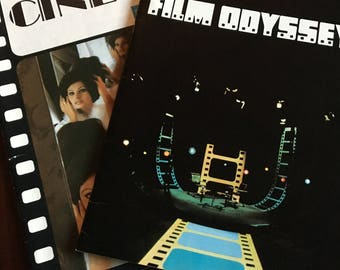 Film Odyssey and Encyclopedie alpha du Cinema from the 1970's.