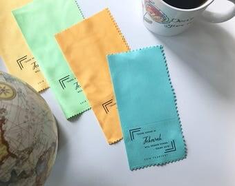 Custom Order Microfiber Gift Lens Cloths