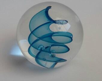 Vintage Paperweight Art Glass
