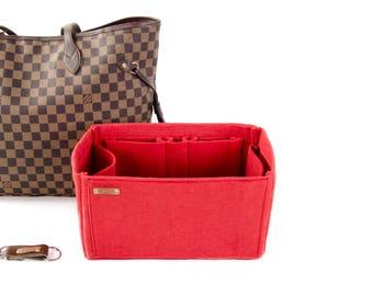 "For ""Louis Vuitton Bags"" Purse bag organizer insert ,felt bag insert oranizer Ipad placer + water bottleholder+keychain , EXPRESS SHIPPING"