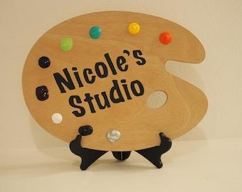 Pallete Studio Sign