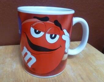 M & M Candy mug Be Mine Red