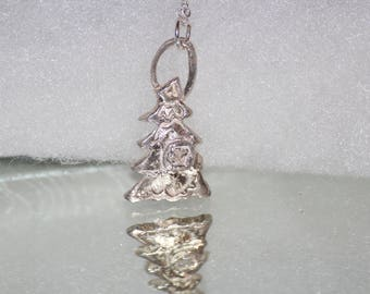 Sterling Silver Cubic Zirconia Christmas Tree