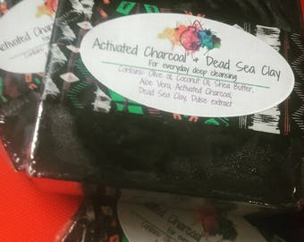 Charcoal and Dead Sea Clay Soap