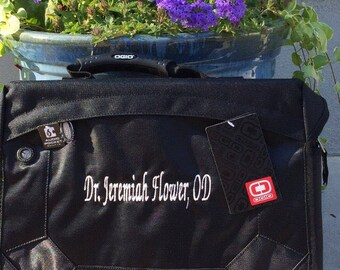 OGIO Messenger Bag Jack Pack Monogrammed Personalized Great Graduation Gift or Groomsmens Gift or Corporate Gift