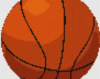 Needlepoint Kit or Canvas: Basketball