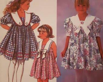 Simplicity 7697, Girl's Dress
