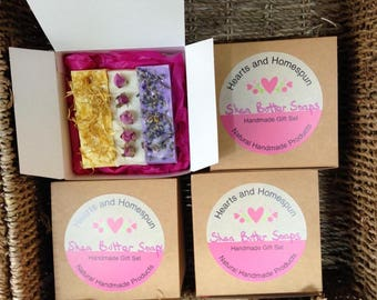 Shea Butter Soap Box