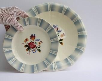 Sarreguemines Claude plates