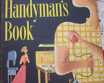 Better Homes and Gardens Handyman's Book 1966