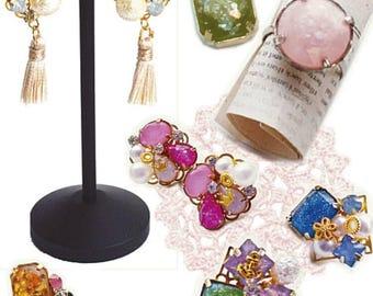 3d crystal diamond cut gem bead resin bijoux jewelry style silicone mold