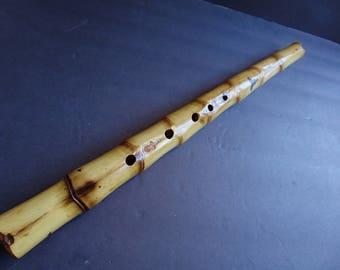Shakuhachi Style .Six Holes Flute.Key of E