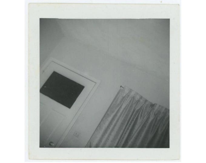Tilted Room Abstract, c1950s: Vintage Snapshot Photo (77595)
