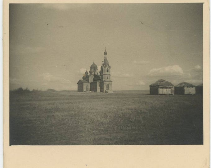 Vintage Snapshot Photo: Church [81638]