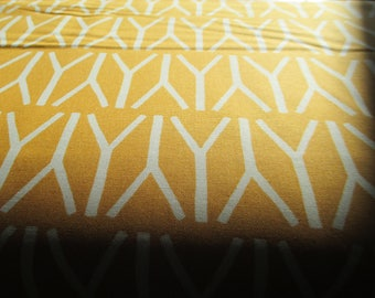 Quilting Weight Cotton Fabric Valley Branches in Mustard by Sherri and Chelsi for Moda 1 yard