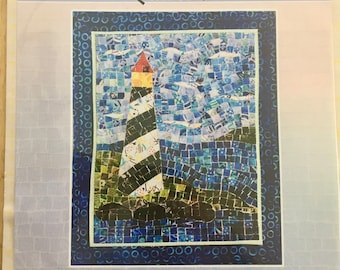 Lighthouse Mini Mosaic Quilt pattern by Cheryl Lynch