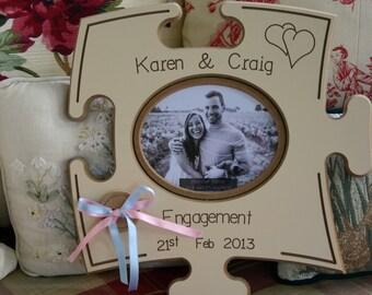 Engagement Puzzle Board - Personalised - Irish Furniture Store