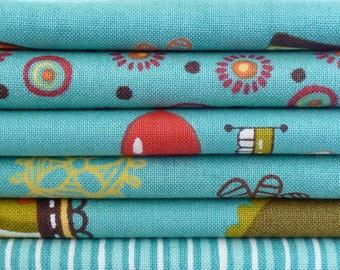 Keiki for Moda Fabrics Mind Your P's and Q's One 29 Piece Quarter Yard Bundle