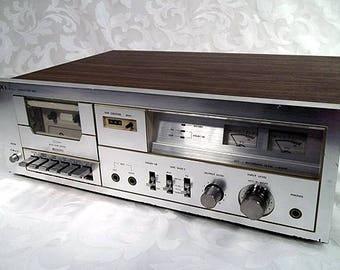 Vtg Sears Roebuck USA Stereo Cassette Deck LXI Model 564.9328 Made in Japan